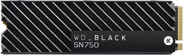 Western Digital WD_Black SN750 With Heatsink 1