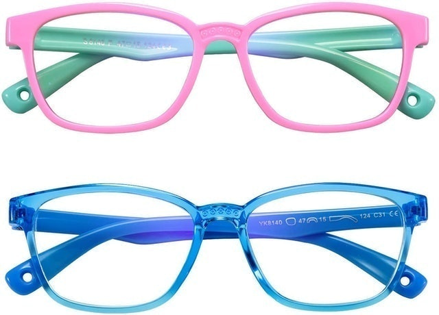 AHXLL Kids Blue Light Blocking Glasses 1