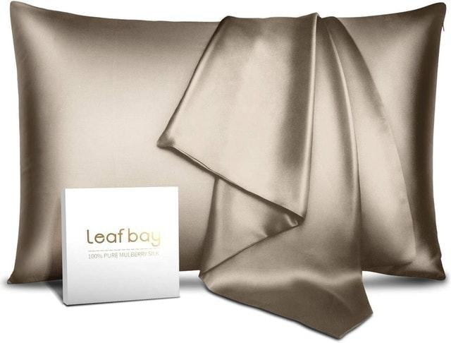 Leafbay 100% Pure Mulberry Silk Pillowcase 1