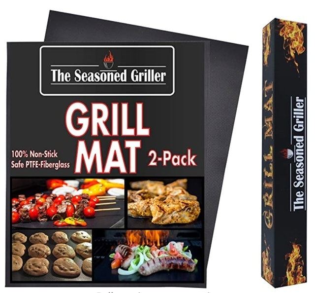 The Seasoned Griller Grill Mat 1