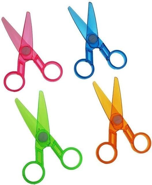 FDIO Plastic Preschool Training Scissors 1