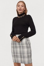 Top 10 Best Women's Tweed Skirts in 2021 (H&M, Kate Spade, and More) 4