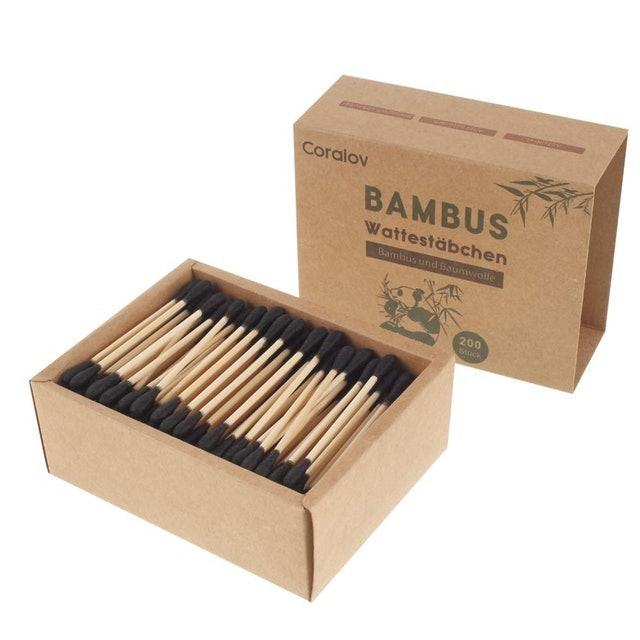 Coralov Bamboo Cotton Swabs 1