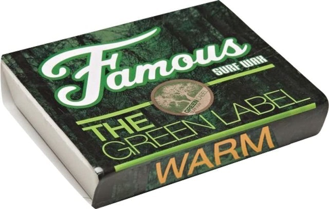 Famous Green Label Surf Wax - Warm 1