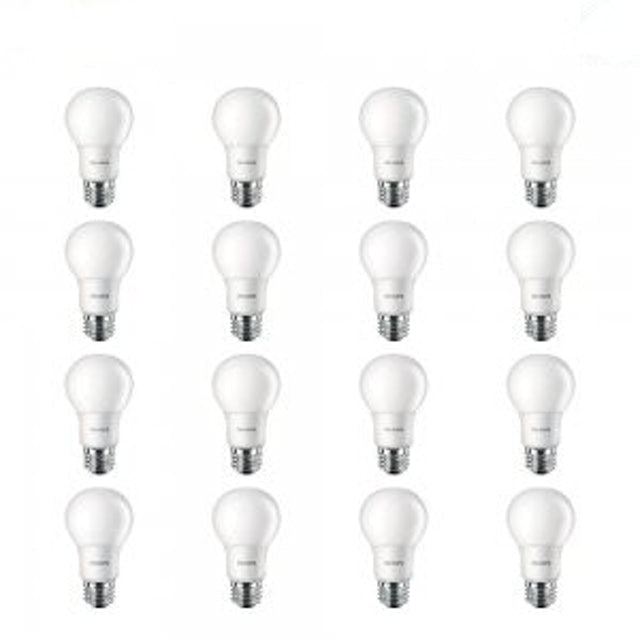 Philips LED Non-Dimmable Frosted Light Bulb 1