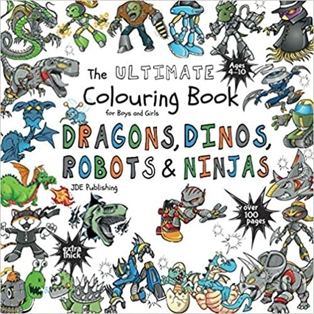 JD Evers, Boys Colouring Books The Ultimate Coloring Book for Boys and Girls 1