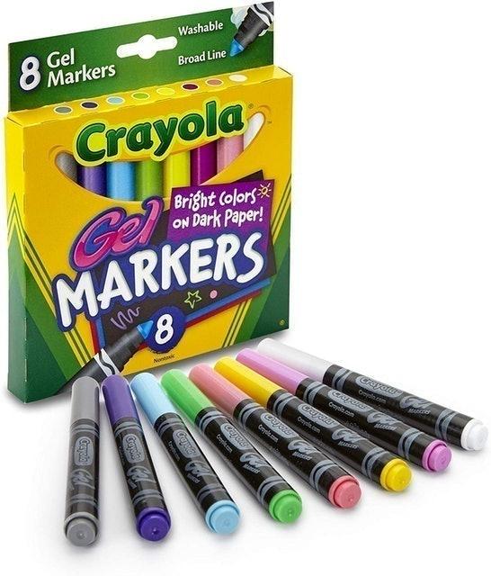 Crayola Washable Gel Markers 1