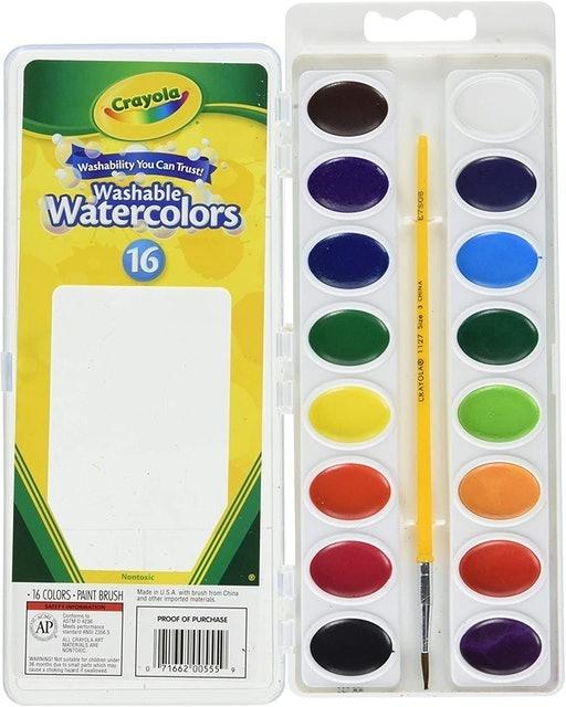 Crayola Washable Watercolors 1