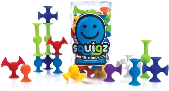 Fat Brain Toys Squigz Starter Set 1