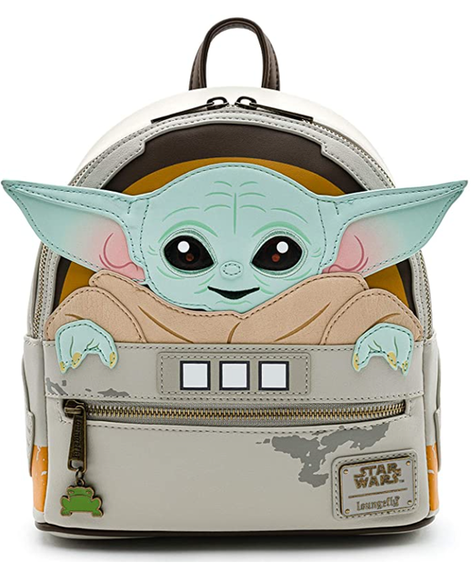 Loungefly Baby Yoda Double Strap Shoulder Bag 1
