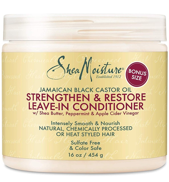 SheaMoisture Strengthen & Restore Leave in Conditioner 1