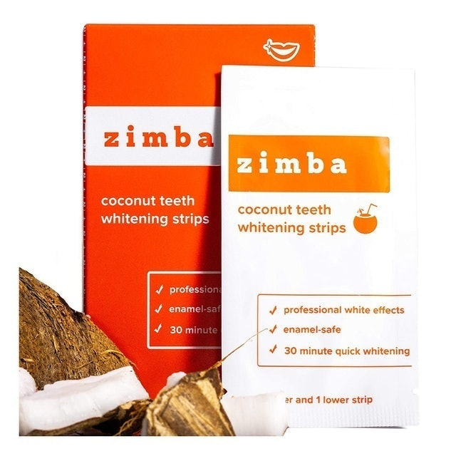 Zimba Coconut Teeth Whitening Strips  1