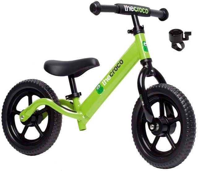 The Croco Lightweight Balance Bike for Toddlers and Kids 1