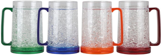 Lily's Home  Gel-Filled Acrylic Mugs 1