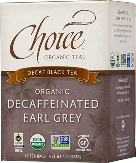 Choice Organic Teas Decaffeinated Earl Grey Black Tea 1