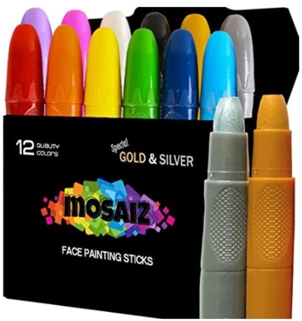 Mosaiz Face Painting Sticks 1