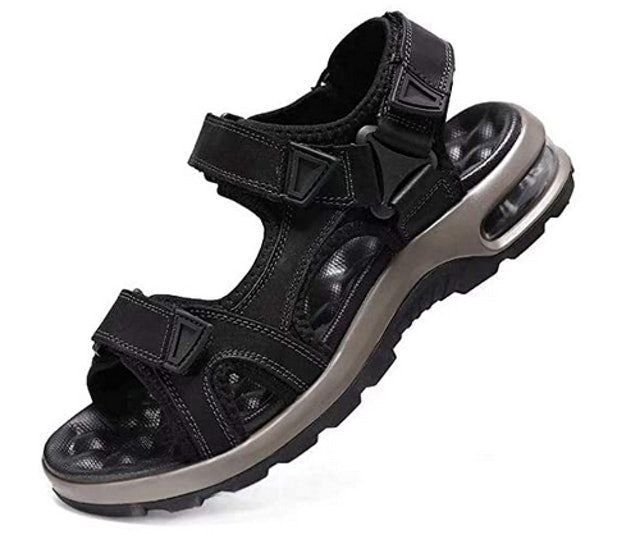 Visionreast Men's Leather Hiking Sandals 1