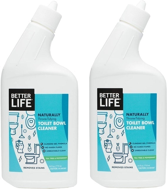 Better Life Naturally Throne-Tidying Toilet Bowl Cleaner 1