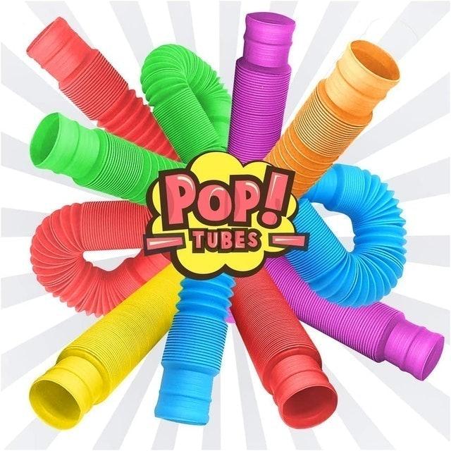 Zaxideel Fidget Pop Tube Toys 1