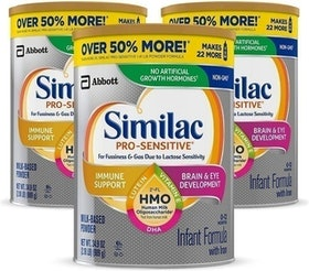 10 Best Lactose-Free and Lactose-Reduced Baby Formulas in 2021 (Similac, Baby's Only Organic, and More) 1