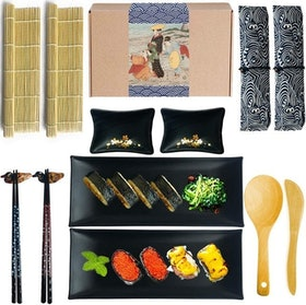 Top 10 Best Sushi Making Kits in 2021 (Bambooworx, Aya, and more) 4