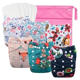 Top 10 Best Reusable Diapers in 2021 (Mama Koala, Nora's Nursery, and More) 2