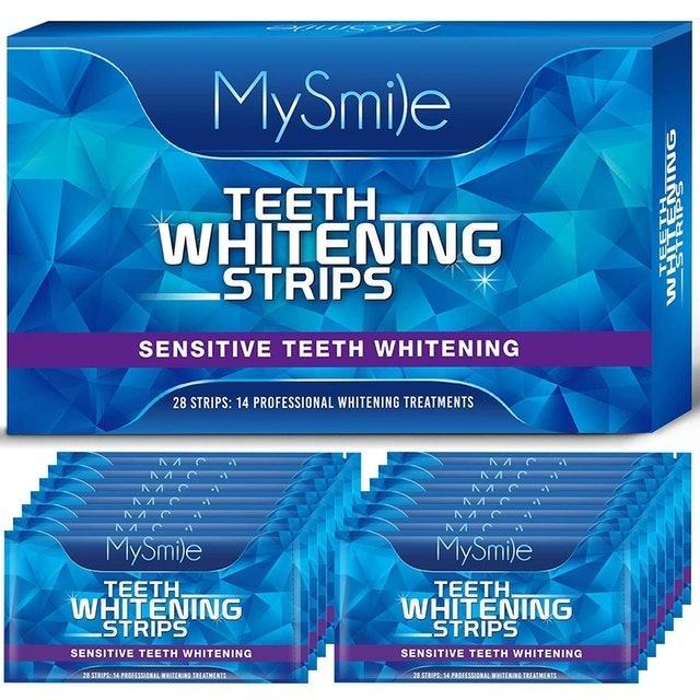 Mysmile Teeth Whitening Strips  1