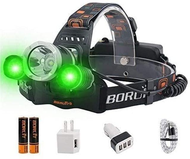 Boruit LED Rechargeable Headlamp  1