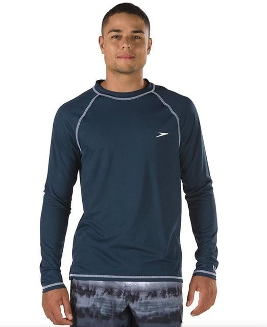 Speedo Men's UV Swim Shirt  1