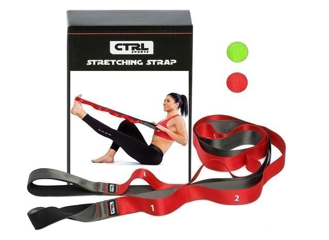 CTRL Sports Stretching Strap with Loops 1