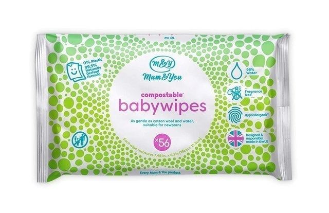 Mum&You Compostable Baby Wipes 1