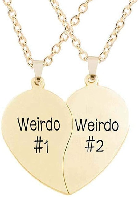 Valentine's Day Necklaces MJartoria BFF Necklaces 1