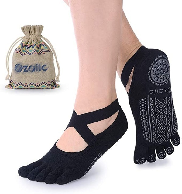 Ozaiic Non-Slip Five Toe Socks 1
