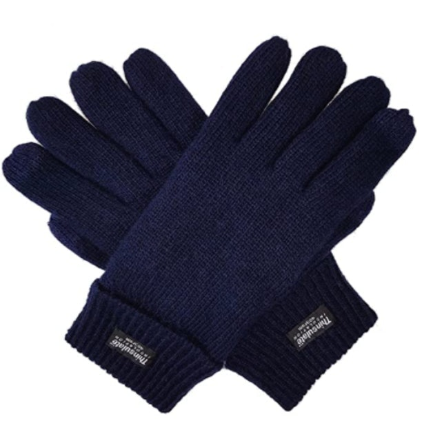 Bruceriver Pure Wool Knitted Gloves with Thinsulate Lining 1