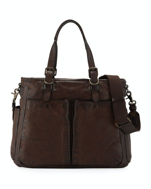 Frye Murray Leather Tote Bag 1