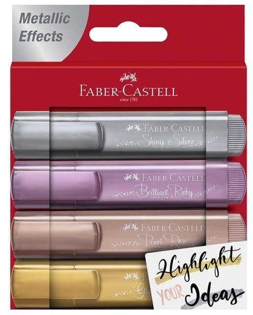 Faber-Castell Metallic Highlighters 1
