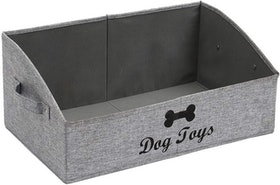 Top 10 Best Dog Toy Storage Items in 2020 (Pet Zone, Woodlore, and More) 4