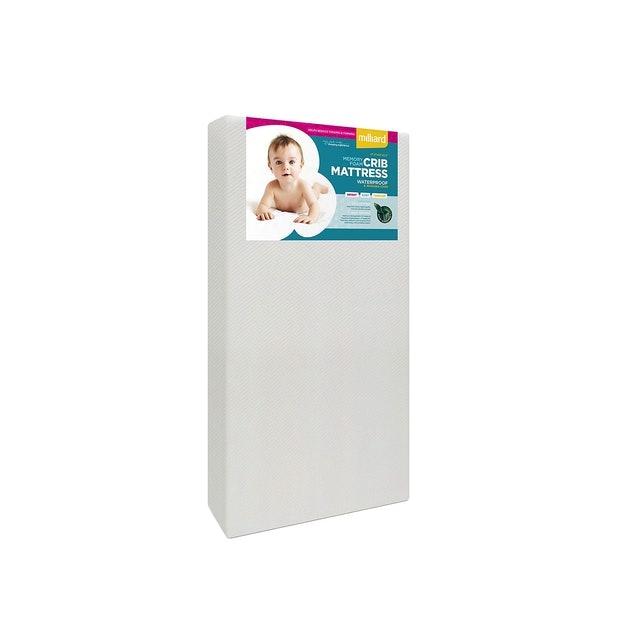 Milliard Memory Foam Crib Mattress 1