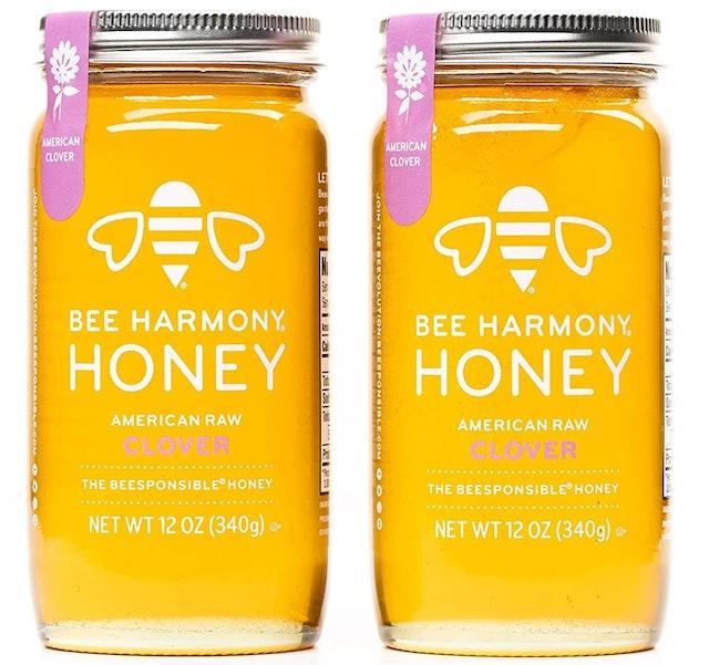 Bee Harmony American Raw Clover Honey 1