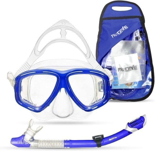 Prodive Dry Top Snorkeling Mask 1