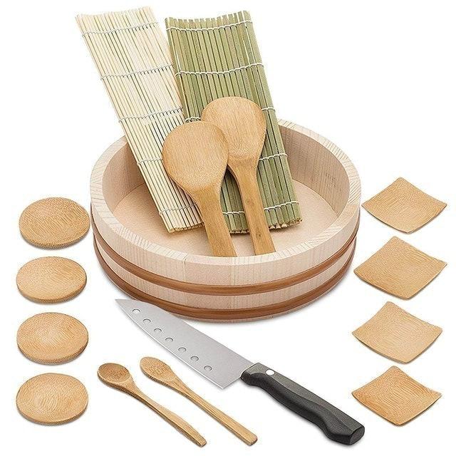 Elvoki Bamboo Sushi Making Kit  1