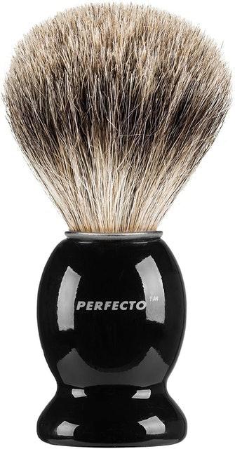 Perfecto Pure Badger Hair Shaving Brush 1