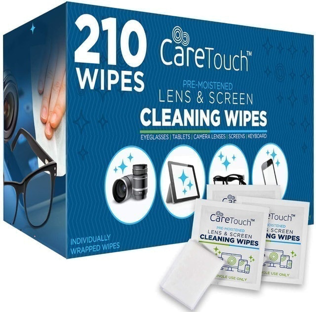 Care Touch  Lens & Screen Cleaning Wipes  1