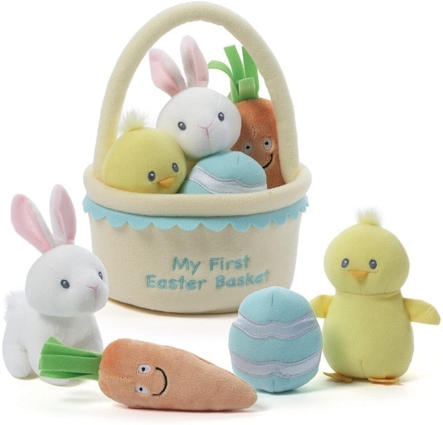 Gund My First Easter Basket Playset 1