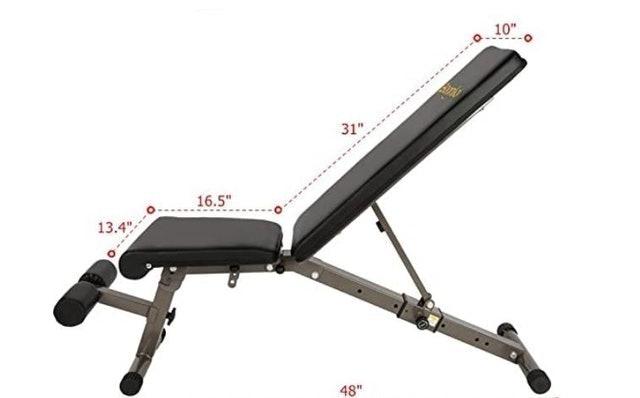 Bonnlo Folding Weight Bench Press 1