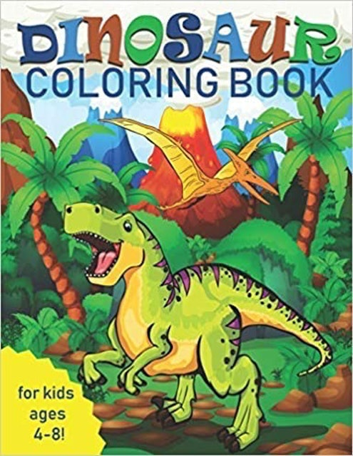 Two Hoots Coloring Dinosaur Coloring Book 1