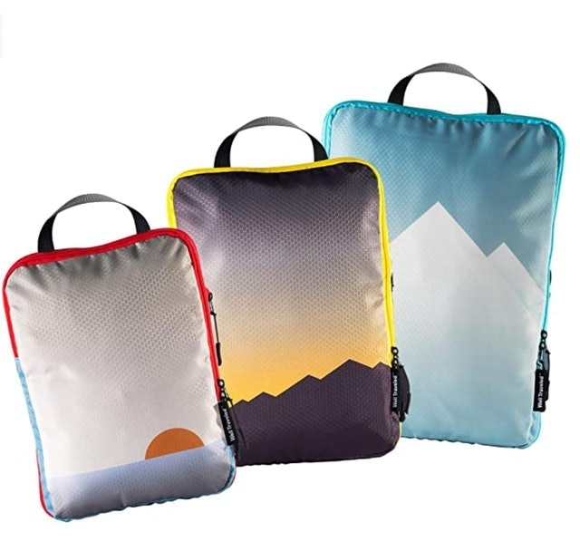 Well Traveled Compression Packing Cubes 1