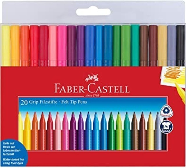Faber-Castell Grip Markers 1