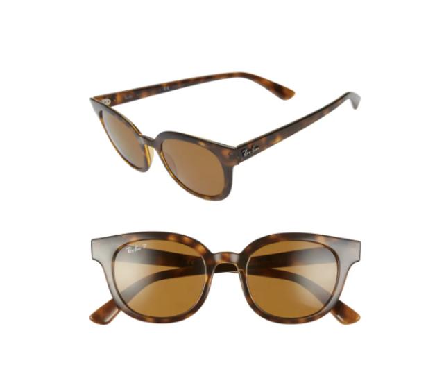 Ray-Ban Polarized Cat Eye Sunglasses 1