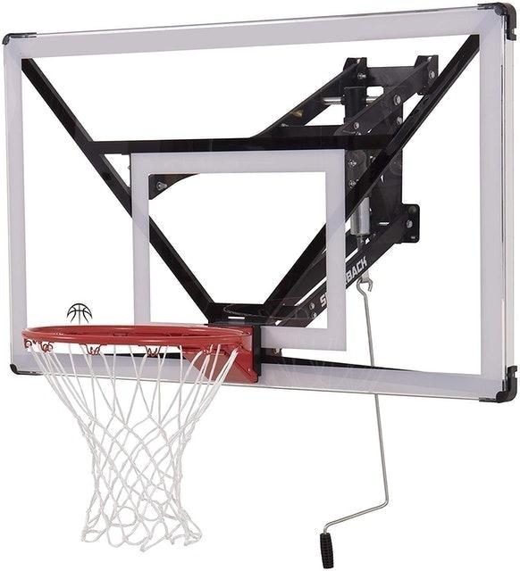 Silverback Wall Mounted Adjustable-Height Basketball Hoop 1